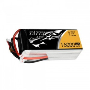 Tattu 14.8V 15C 4S 8000mAh Lipo Battery Pack with XT60 Plug