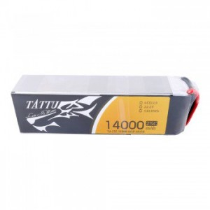 Tattu 14000mAh 25C 6S1P 22.2V UAV Lipo Battery Pack with AS150+AS150 Plug