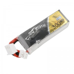Tattu 2S 7.6V 75C 2S1P 300mAh Lipo Battery Pack with JST-PHR Plug Tinyhawk S