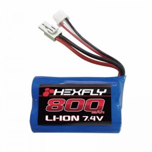 Redcat Racing 28021T Li-ion Battery for Volcano 18 V2 (7.4V,800mAH)
