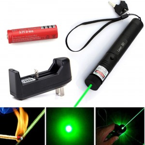 Military 301 3 mile Laser 532nm Green Zoomable Laser Pen Pointer