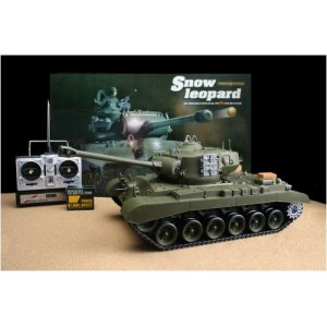 RC Snow Leopard M26 1/16th Scale RC Air Soft Tanks With Sound