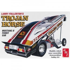 AMT AMT1009 Trojan Horse Mustang II Funny Car 1/25 Scale Plastic Model Kit