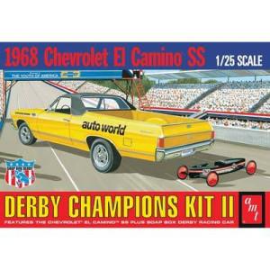 AMT AMT1018 1968 Chevrolet El Camino SS Derby Champions Kit II