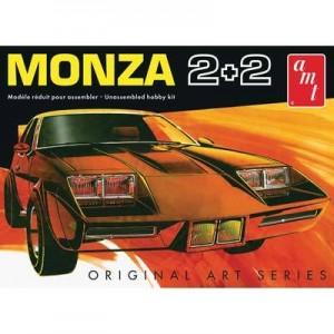 AMT AMT1019 1977 Chevy Monza 2+2 Custom 1/25 Scale Plastic Model Kit