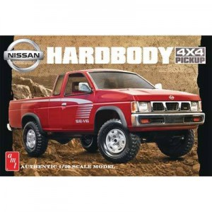 AMT AMT1031 Nissan Hardbody 4X4 Pickup 1/20 Scale Plastic Model Kit