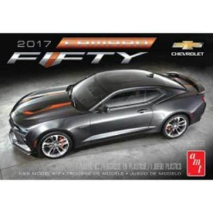 AMT AMT1035M 2017 Chevy Camaro 50th Anniversary 1/25 Scale Plastic Model Kit