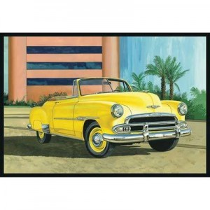 AMT AMT1041 1951 Chevy Convertible Sun Cruiser 1/25 Scale Plastic Model Kit