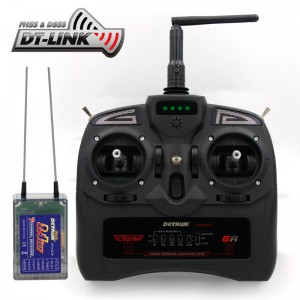 Detrum GAVIN-6C 6CH Digital Transmitter with RXC7 Receiver and 4PCS 9g Servos