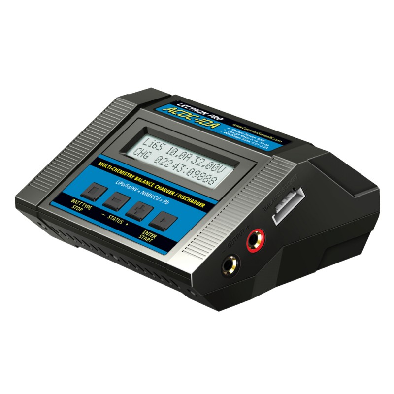 Lectron Pro ACDC-10A 1S-6S 100W 10A Multi-Chemistry Balancing Charger (LiPo/LiFe/LiHV/NiMH)