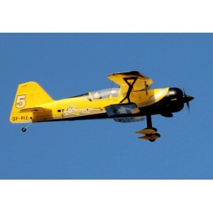 Pitts Python 42'' Yellow EPO RC Airplane Read-To-Fly