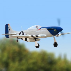 Dynam Mini P-51 762mm Wingspan