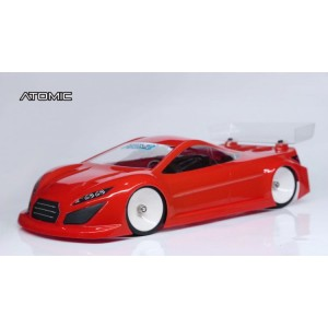 Atomic RC 1:28 DBX Lexan Body (98mm wheel base)