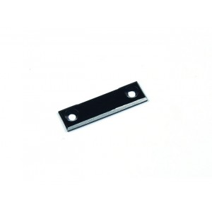 Atomic RC Alum. Front Body Mount Plate (Black)