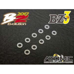 Atomic RC BZ3 M1.5 * 2.5 * 0.35 spacer (10pcs)