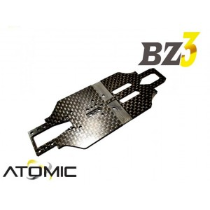 Atomic RC BZ3 Carbon Chassis 98mm WB