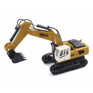 HuiNa Toys 1331 1/16 2.4G 9CH Electric Rc Excavator Engineering Digging Truck Model