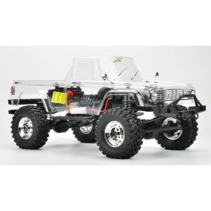 Carisma SCA-1E Coyote Scale Crawler Truck Deluxe Kit, w/ Performance Tires, 1/10 Scale (285mm Wheelbase)
