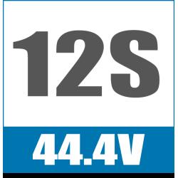 12S 44.4V