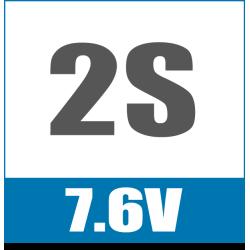 2S 7.6V
