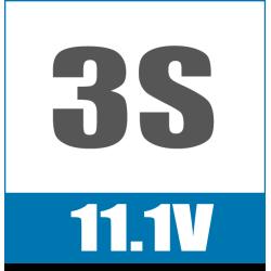 3S 11.1V