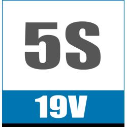 5S 19V