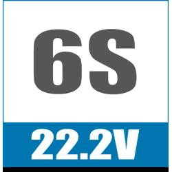 6S 22.2V