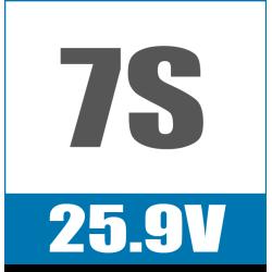 7S 25.9V