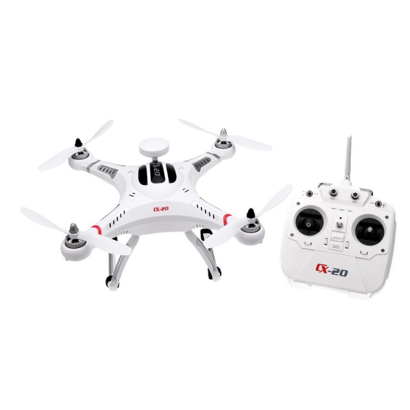 Cheerson CX-20 Auto-Pathfinder FPV RC Quadcopter with GPS Auto-return Function RTF