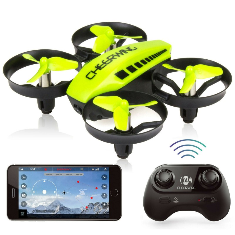 Cheerwing CW10 Mini RC Wifi FPV Drone with Camera Quadcopter Altitude Hold