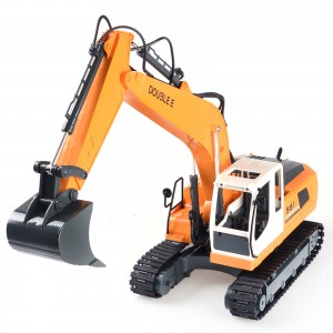 Double E Remote Controlled Excavator 1/16 Scale 2.4GHZ 17 Channel