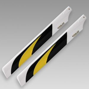 Dynam CF main blade for electric 250 helicopter(205mm)
