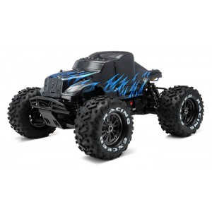 Exceed Mad Beast 1/8Th Monster Truck Racing Edition Ready to Run w/ 540L Brushless Motor/ ESC/ Lipo Battery (Black/Blue)
