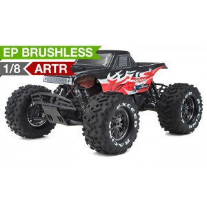 Exceed Mad Beast 1/8Th Monster Truck Racing Edition Almost Ready to Run ARTR w/ 540L Brushless Motor/ ESC (Red)