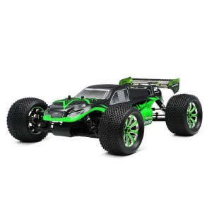 Exceed Mad Warrior 1/8Th Racing Edition Truggy Almost Ready to Run ARTR Brushless Motor/ESC/Lipo (Star Green)