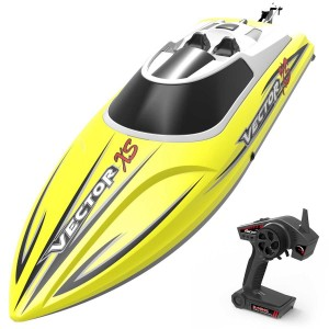 Exhobby  Vector XS Mini Boat with Auto Roll Back Function and Reverse Function (795-4) RTR Yellow