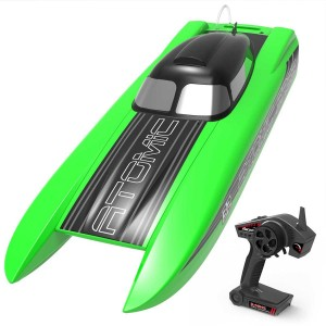 Exhobby ATOMIC SR85 50mph Super High Speed Boat with Auto Roll Back Function and All Metal Hardwares (798-3) ARTR