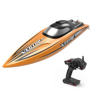 Exhobby Vector SR80 Pro 44mph Super High Speed Boat with Auto Roll Back Function and All Metal Hardware (798-4P) ARTR