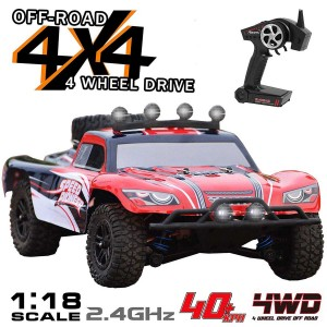 Exhobby Short Course 25mph High Speed Truck with Shock Absorber System and Water-Splash-Proof Structure (785-2) RTR
