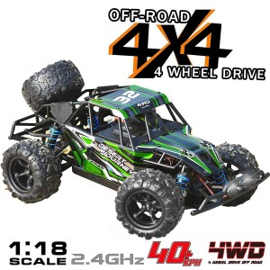 Exhobby Desert Journey 1:18 Scale 4WD Off-Road RC Car with 40kph High Speed (785-3) RTR