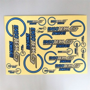 Ensotech Swave Team Element Sticker / Decal sheet