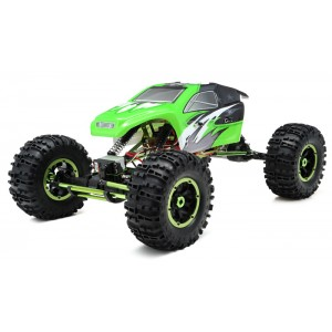 Exceed RC 1/8Th Mad Torque Rock Crawler Ready to Run (Green) RC Remote Control Radio Truck