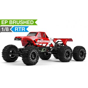 Exceed RC 1/8 scale 6x6 MadTorque Rock Crawler 2.4ghz Ready to Run RC Remote Control Radio Truck
