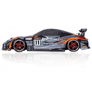 Exceed DriftStar 1/10 4WD Brushless RC Drift Car 350 Orange Style 2.4gHz - RTR