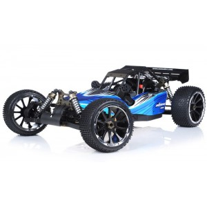 Exceed Barca Buggy 1/5 Scale Gas Powered 32cc Engine 2.4Ghz - AA Blue - RTR