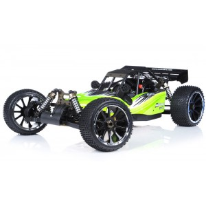 Exceed Barca Buggy 1/5 Scale Gas Powered 32cc Engine 2.4Ghz - AA-Green - RTR