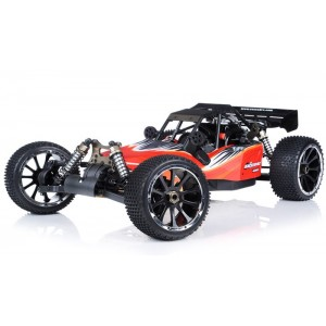 Exceed Barca Buggy 1/5 Scale Gas Powered 32cc Engine 2.4Ghz - AA Red - RTR