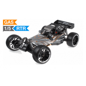Exceed Barca Buggy 1/5 Scale Gas Powered 32cc Engine 2.4Ghz - Orange - RTR