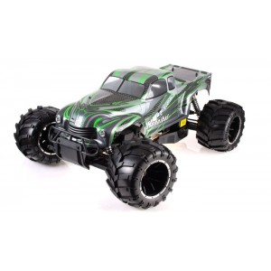 Exceed Hannibal Monster Truck 1/5th Giant Scale 32cc Gas-Engine - Green - ARTR