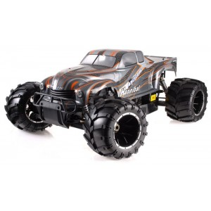 Exceed Hannibal Monster Truck 1/5th Giant Scale 32cc Gas-Engine - Orange - ARTR